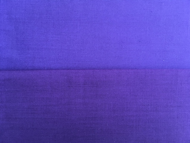 Fabric in shades of purple