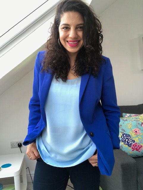 What does a Personal Stylist do? Photo of Reshma Field author of the blog.
